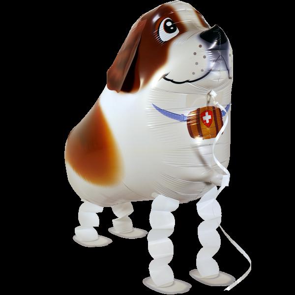 Walking Ballon - Airwalker Ballon - Bernhardiner Hund