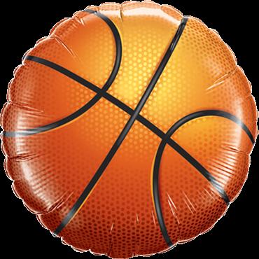 Basketball Folienform Rund