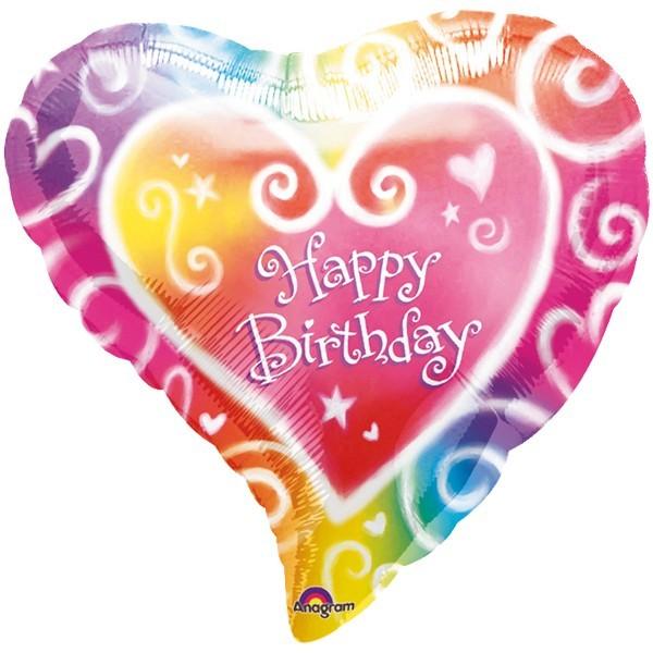 """Happy Birthday"" Geburtstags-Folienballon"