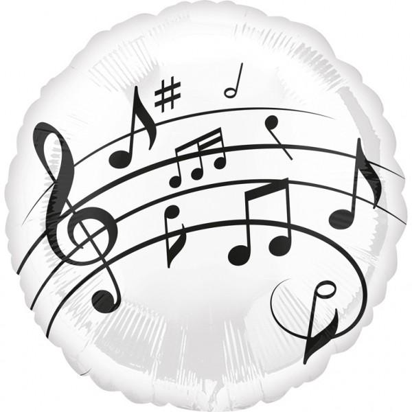 Musik- Spaß Folienballon
