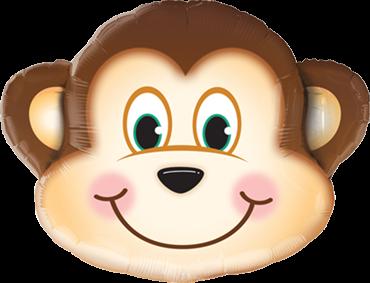 Boshafter Affen Folienballon