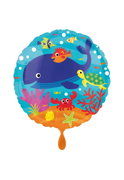 Unter dem Meer Folienballon