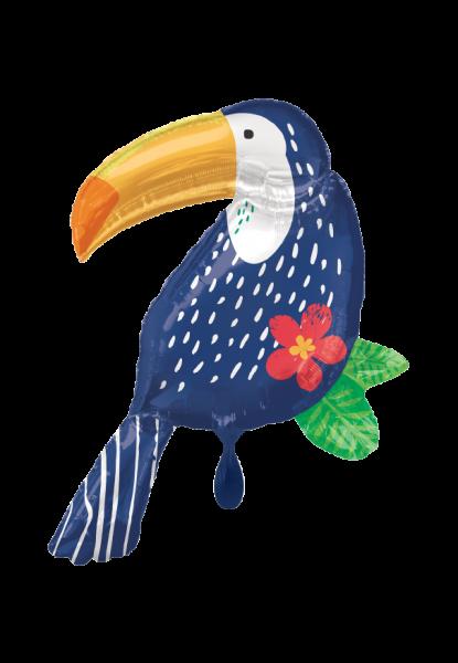 Folienballon - Tropischer Dschungeltukan