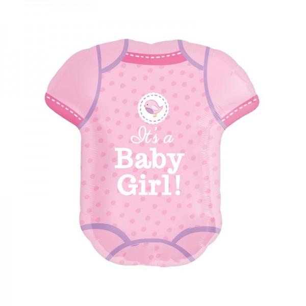 Babybody - Its a baby girl! - Folienballon