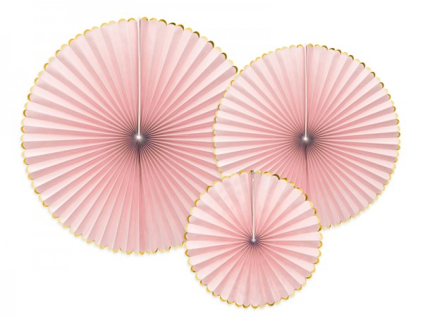 Dekofächer light pink