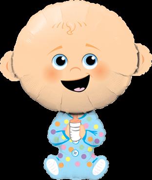Baby Boy Folienballon