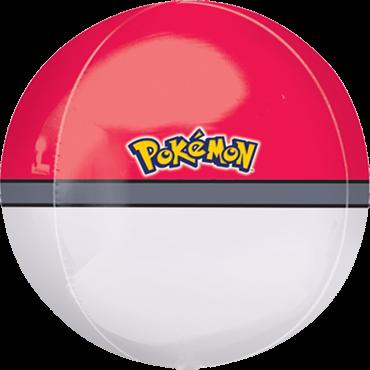 Pokeball Orbz Folienballon