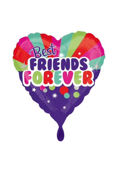 Best Friends Forever Folienballon