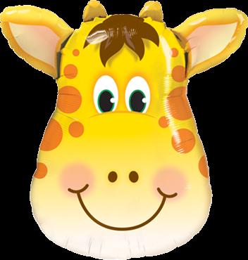 Jolly Giraffe Folienballon