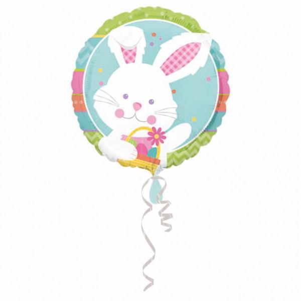 """Happy Hop"" rund Folienballon"