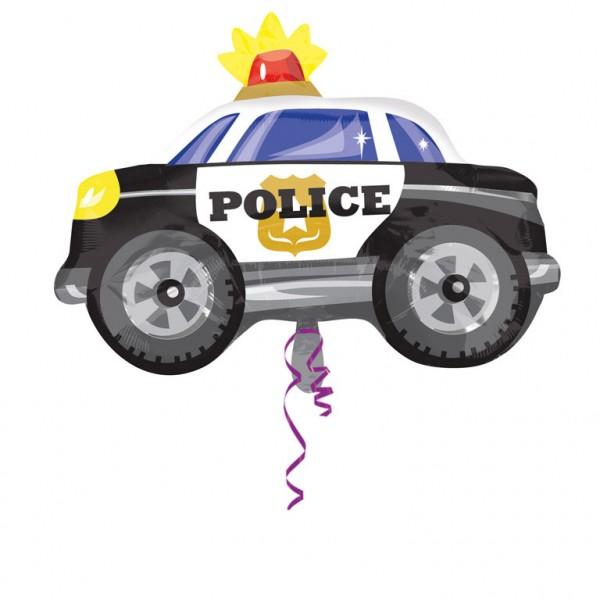 Beruf - Polizeiauto - Folienballon