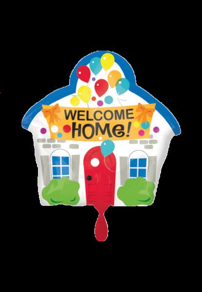 Welcome Home Folienballon