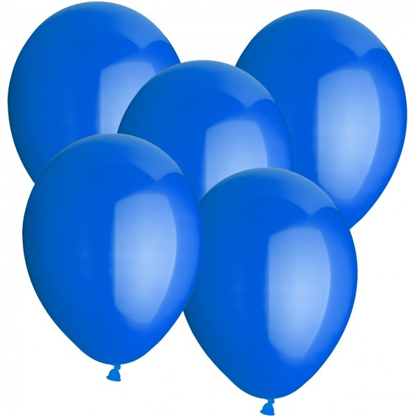 100 Latexballons - Blau