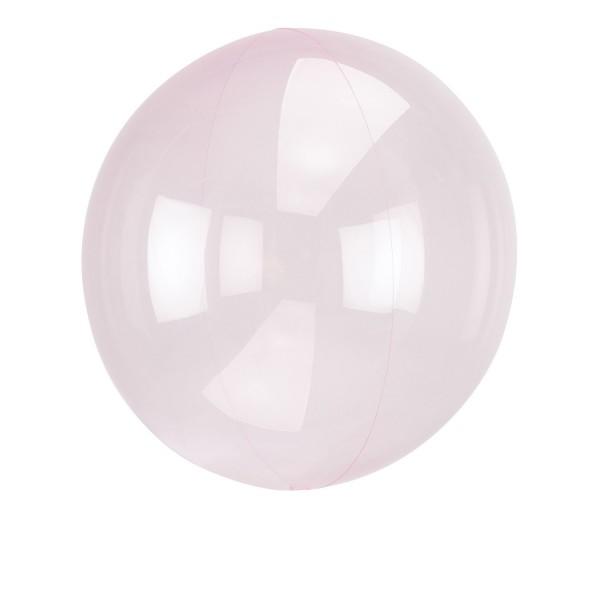 Clearz Crystal Light Pink Folienballon