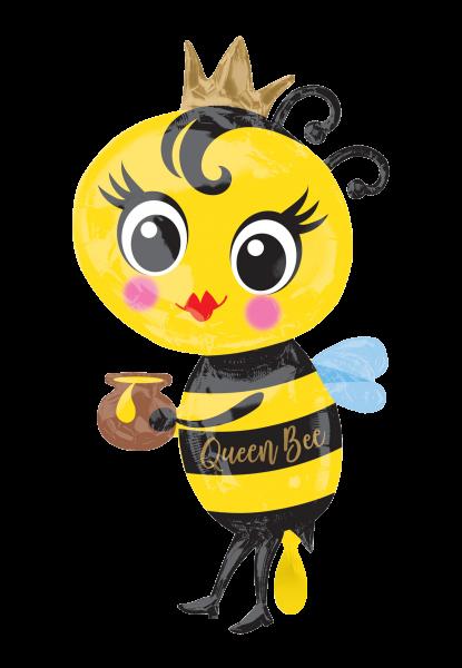 Bienenkönigin Folienballon