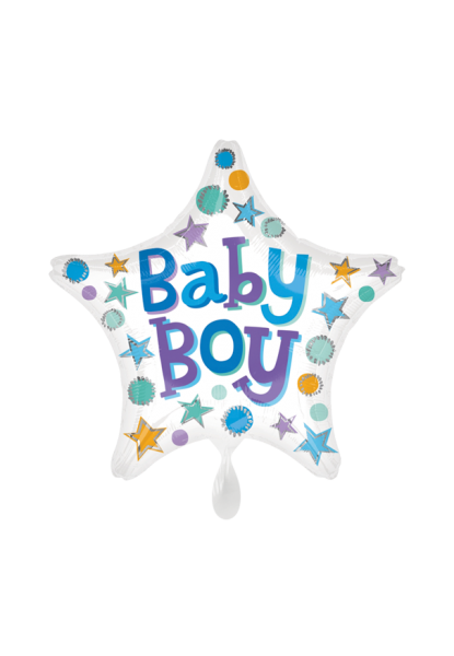 """Baby Boy"" Geburts-Folienballon"