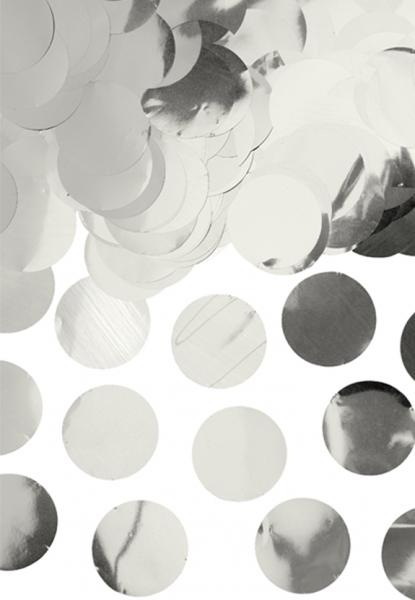 Folienkonfetti - Silber