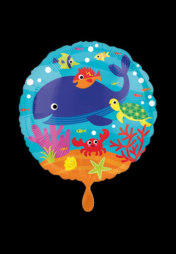 Under the Sea Folienballon