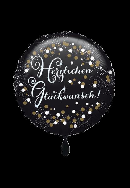 Herzlichen Glückwunsch Folienballon
