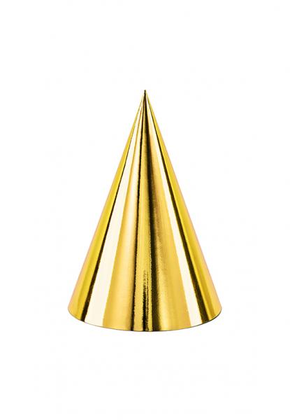 Partyhüte - Gold