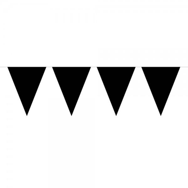 Fahnenkette schwarz