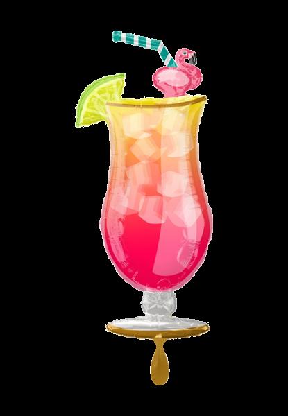 Tropical Drink Folienballon