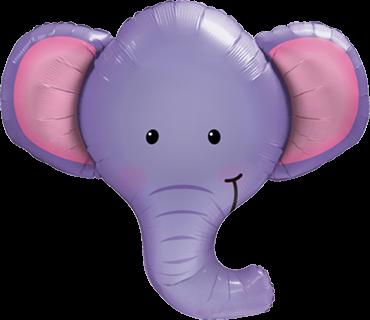 Elefant Folienballon