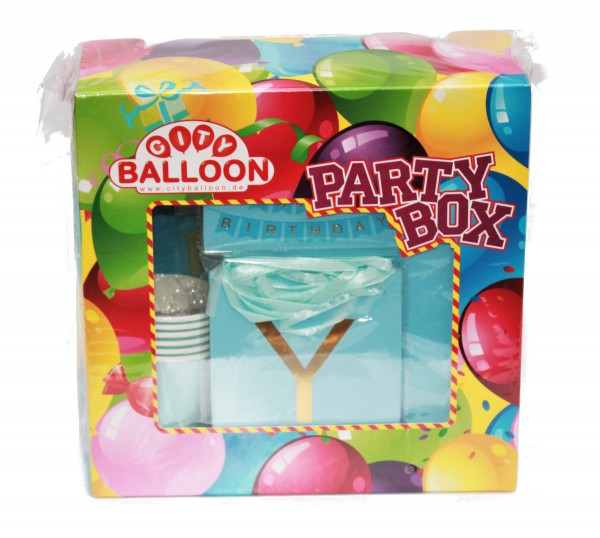 Party Box Blau