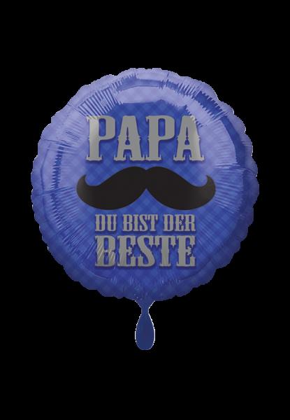 Papa du bist der Beste Folienballon