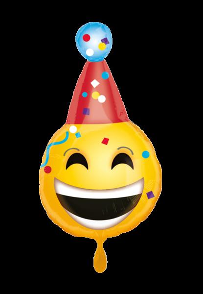 Geburtstag Emoji Folienballon