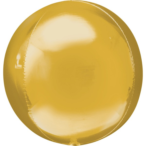 Orbz Gold Folienballon