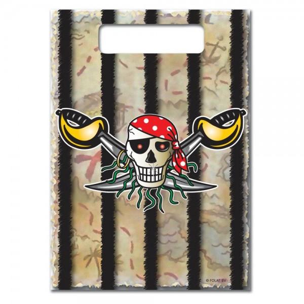 Rote Piratenpartei-Beutetasche