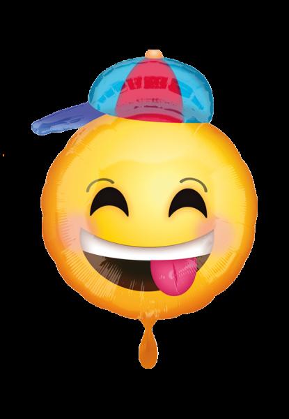 Happy Emoji Folienballon