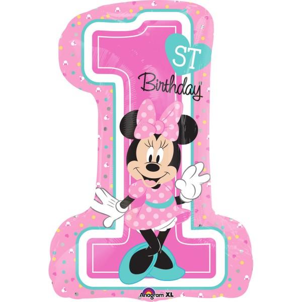 """""""Minnie - 1. Geburtstag"""" Folienballon"""