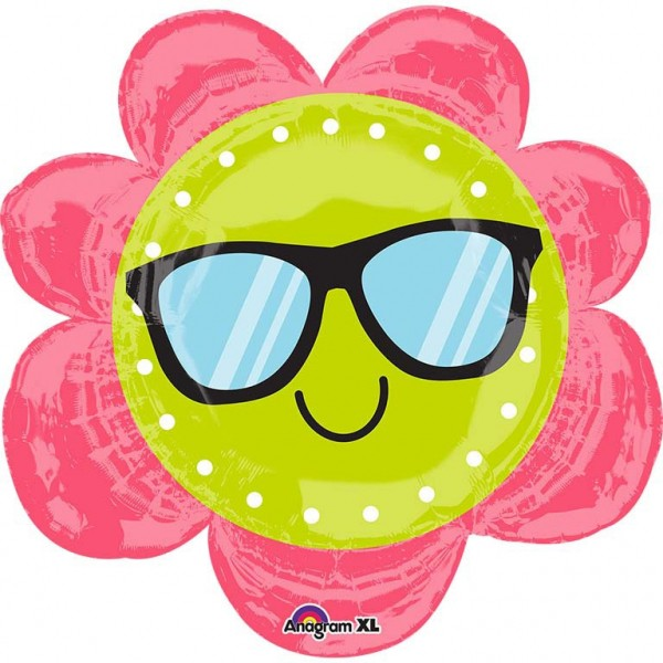 """Fun in the Sun - Flower"" Folienballon"