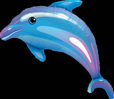 Delphin Folienballon