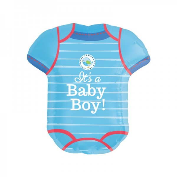 Babybody - Its a baby boy! - Folienballon
