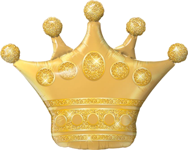 Golden Crown Folienfiguren