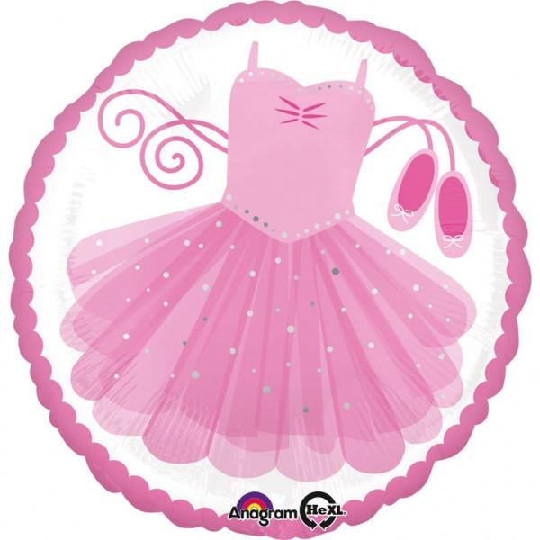 """""""Ballerina Tutu"""" runder Folienballon"""